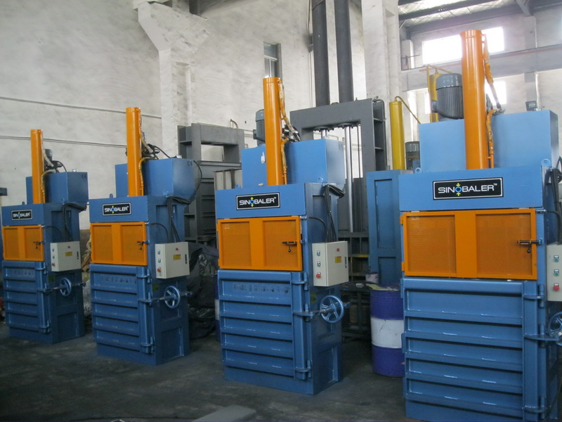 Long Stroke Baler (eg. Hollow Plastic Baler, PET Bottle Baler, Aluminum Can Baler)