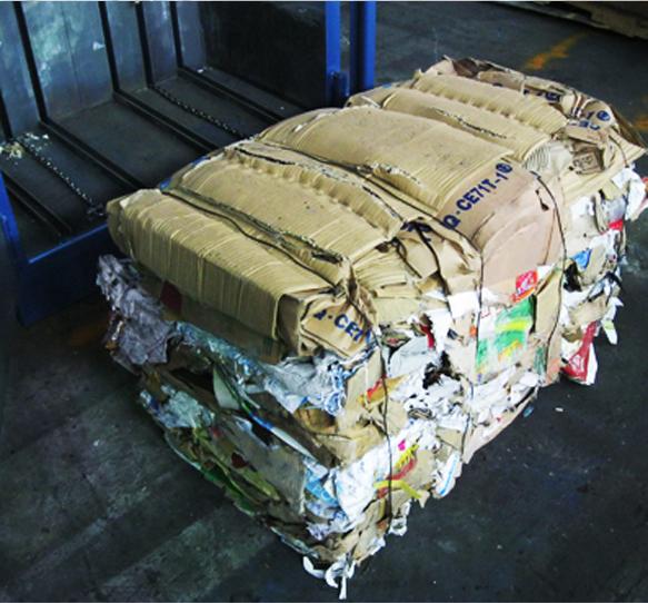 Cardboard Baler (eg. Mill Size Baler)