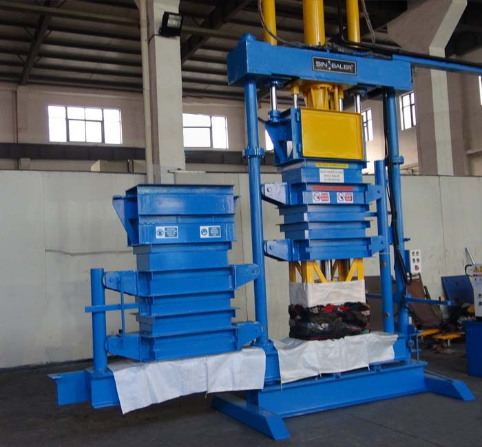 Swivel Twin Lifting Chamber Baler