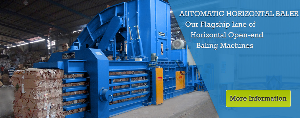 Baler Manufacturer of Baling Press Machines & Compactors