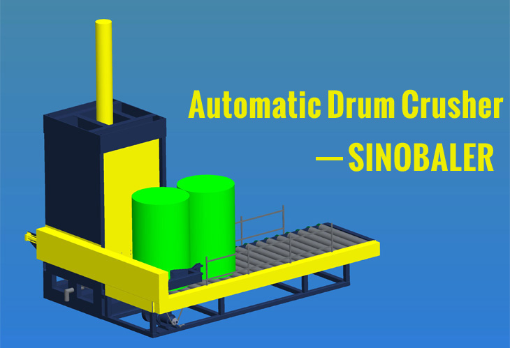 automatic drum crusher
