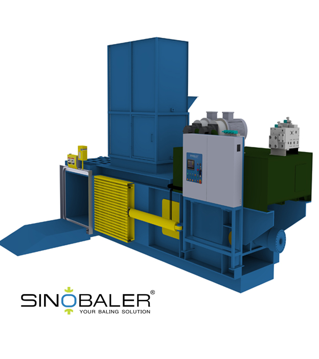 L-type Two Ram Automatic Horizontal Baler