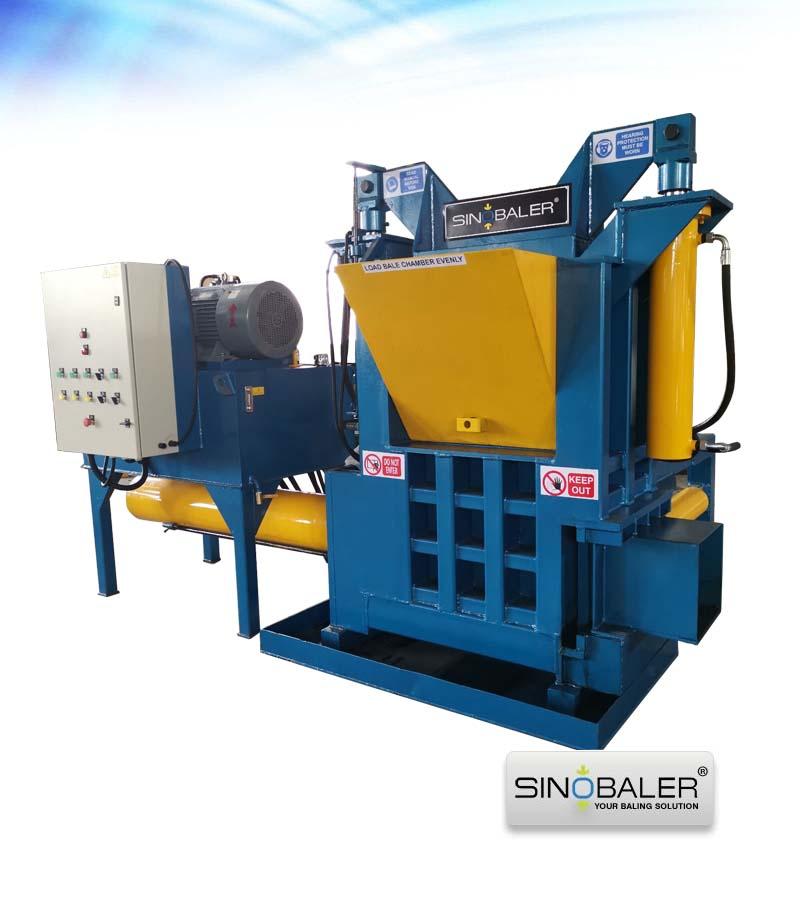 Oil Filter Baler Machine