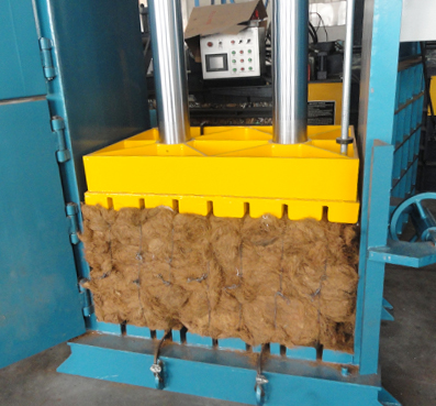 Heavy Duty Fiber Baler Fiber Baling Press Machines
