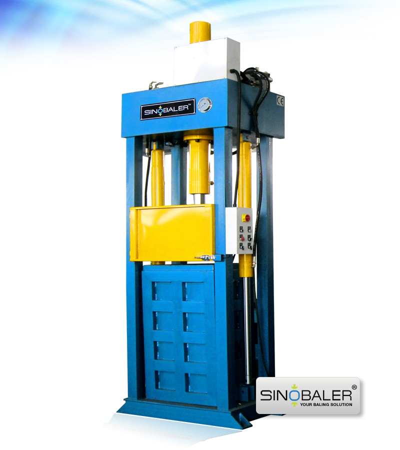 Textile Baler for Sale, Lifting Chamber Textile Baling Machine