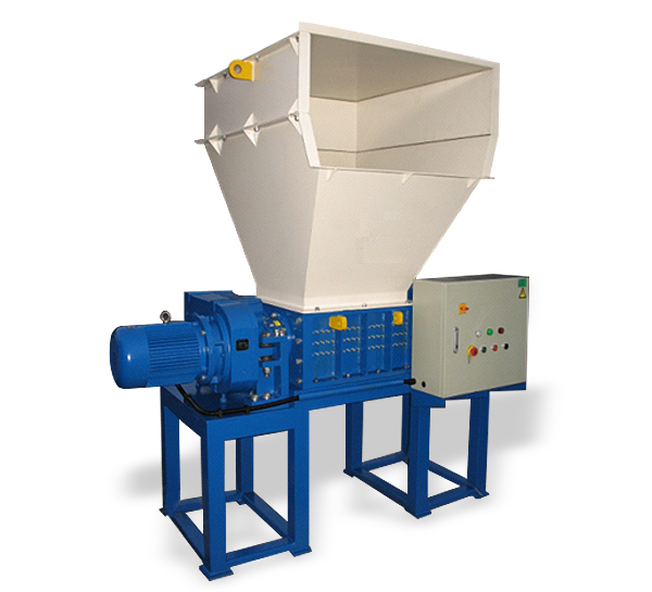Single Motor Double Shaft Shredder