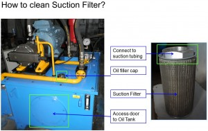 How to clean Suction Filter