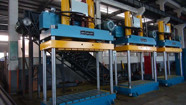 Grey Fabric Baling Press Machine