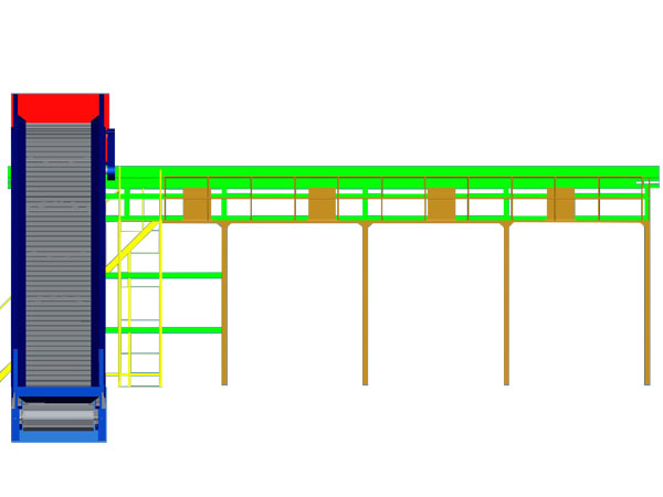 Sorting Line 3D System