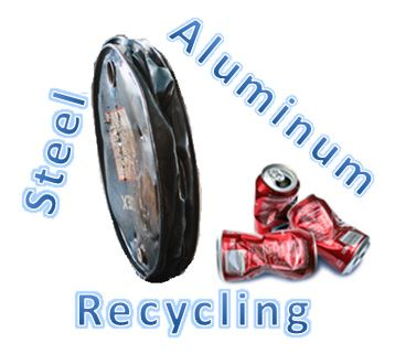 What metal scrap can be recycled?