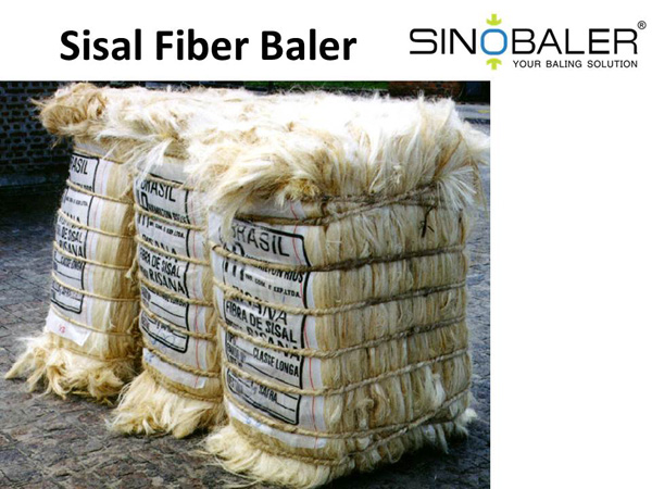 Sisal Fiber Baler Machine / Sisal Hemp Baling Machine