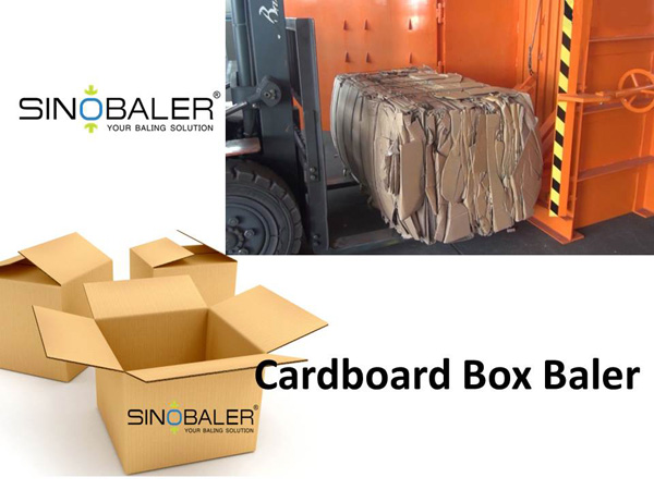 Cardboard Box Baler in Cardboard Box Recycling