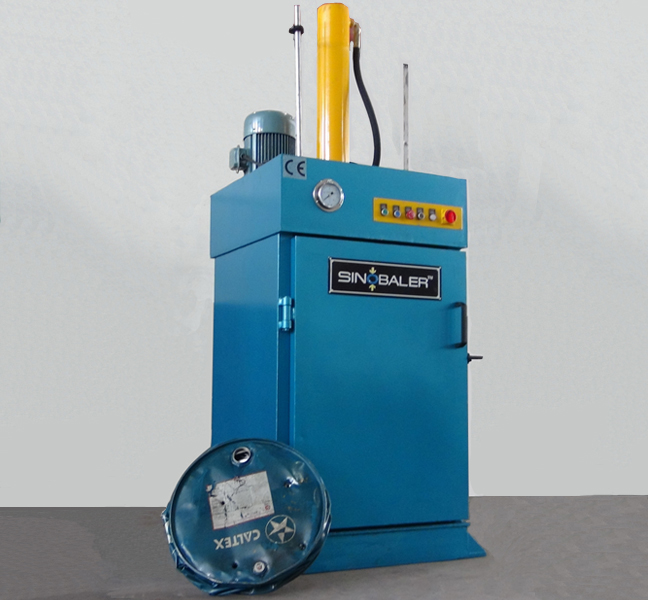 Drum Crusher Baler / Barrel Flattener