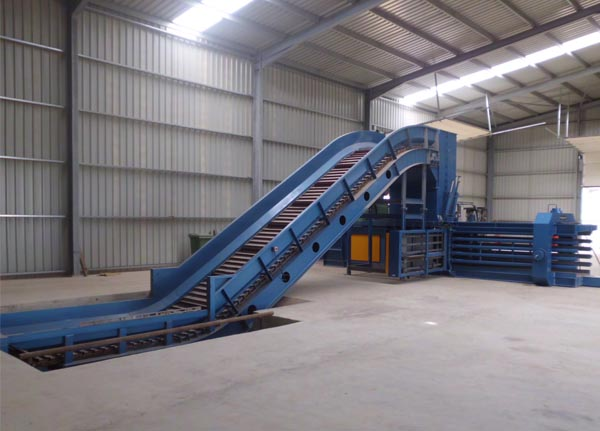 Conveyor Feeding Conveyor Systems Horizontal Baler