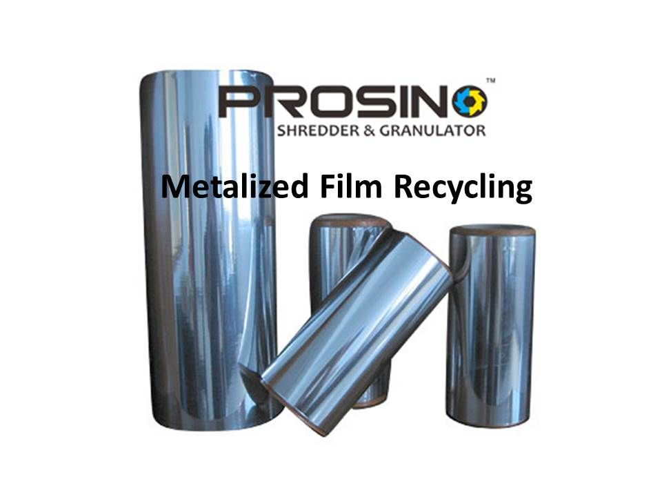 Metalized Film Recycling