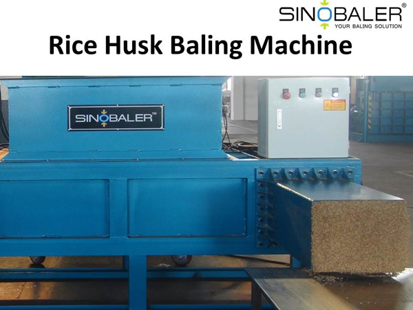 Rice Husk Baling Machine for Rice Husk Utilization