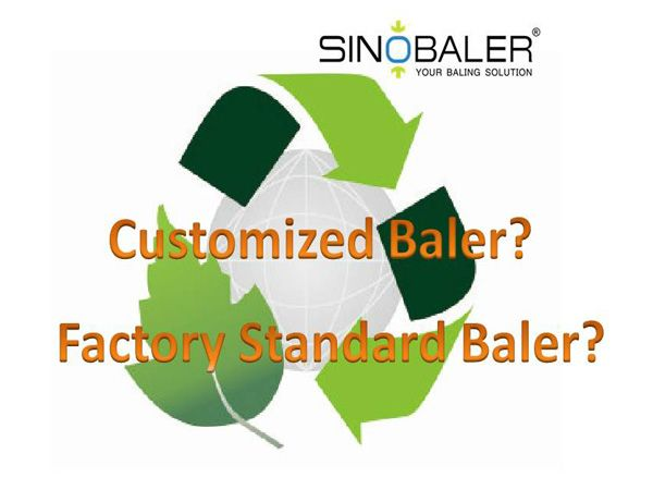 Buy a Customized Baler or Standard Baler