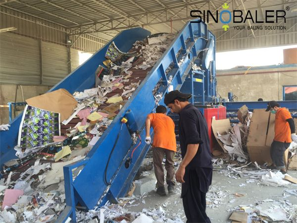 Different Baler Feeding Method