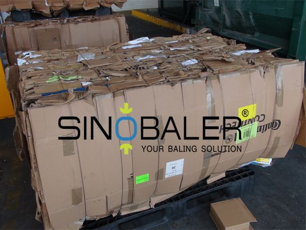 Vertical Cardboard Baler and Horizontal Cardboard Baler