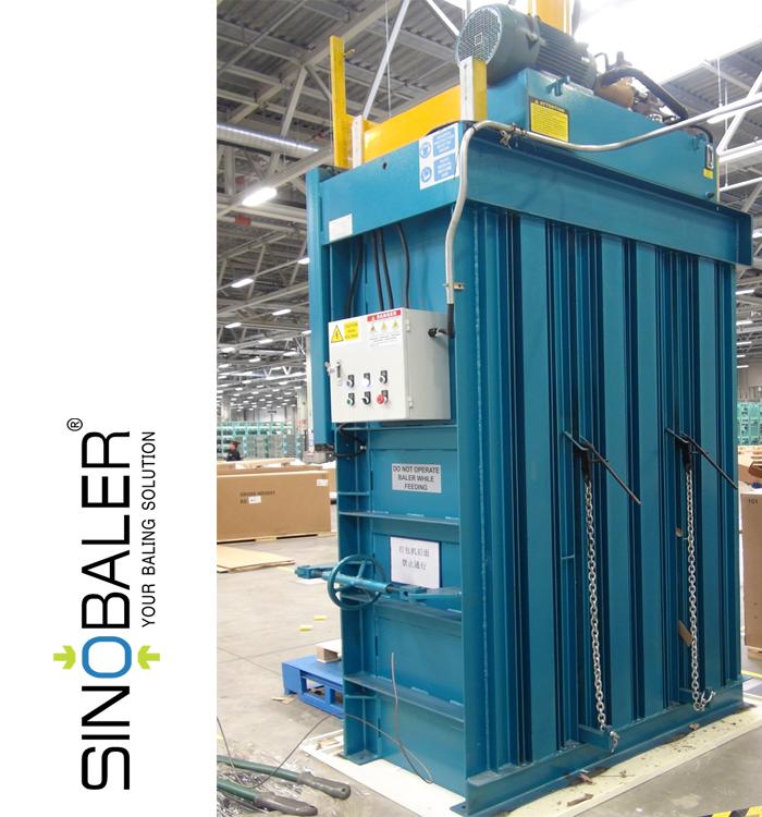 baler machine for cardboard