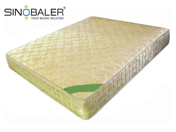 Recycle Mattress With a Mattress Baler