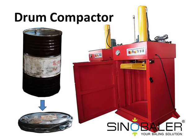 Drum Compactor – Minimize the Waste Generation