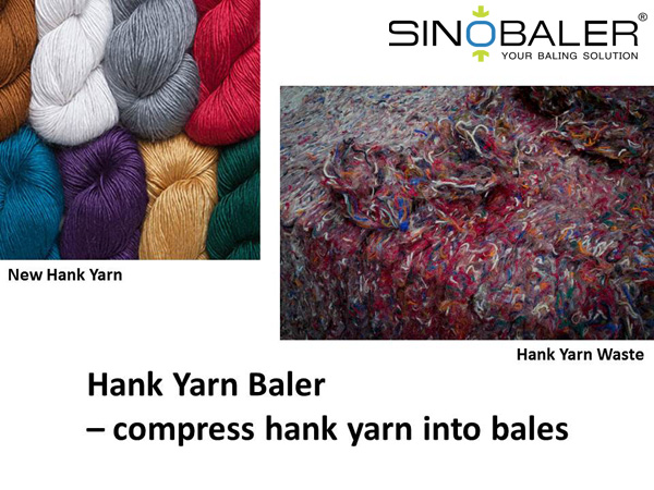 Hank Yarn Baler Advantages and Significance