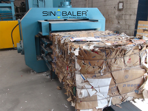 Scrap Cardboard Baling Machine