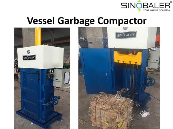 Vessel Garbage Compactor – Reduce Marine Waste