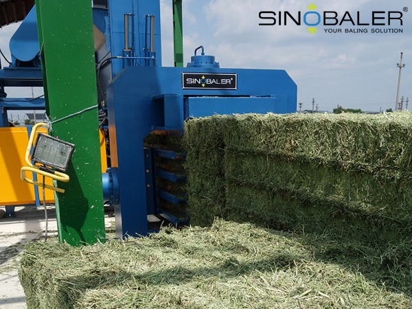 Alfalfa Baler: An Efficient Baling Machine for Recycling