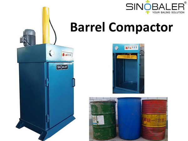 Barrel Compactor – Flatten your Barrels