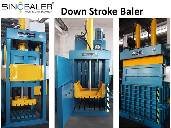 Down Stroke Baler – Enhance Your Recycling Process