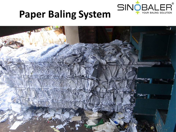 Paper Baling System