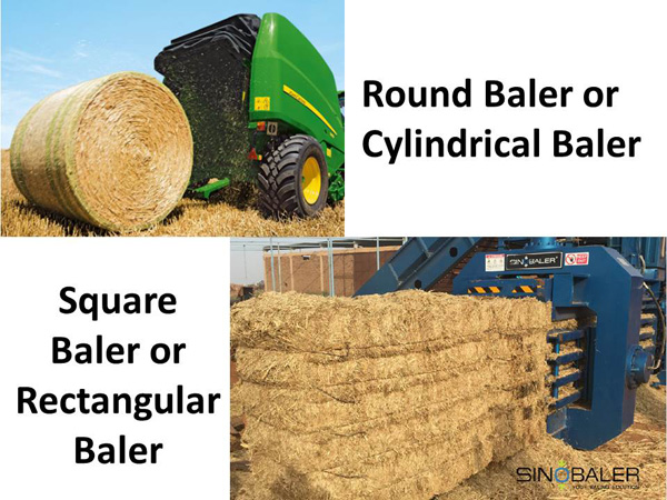 Square Baler / Rectangular Baler vs Round Baler / Cylindrical Baler