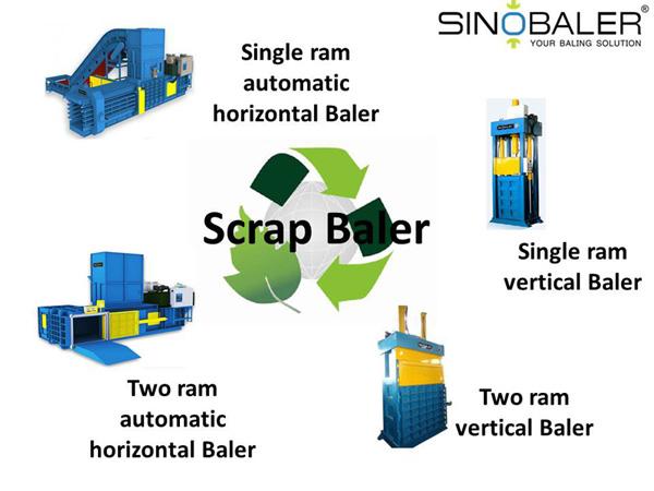 Scrap Baler / Scrap Compactor