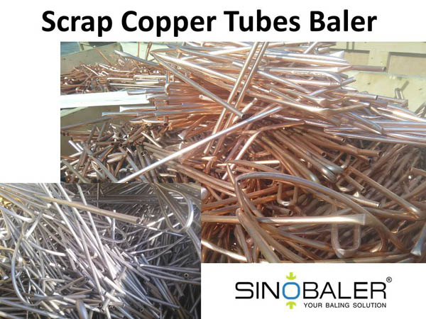 Scrap Copper Tubes Baler