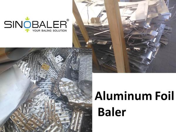 Aluminum Foil Baler