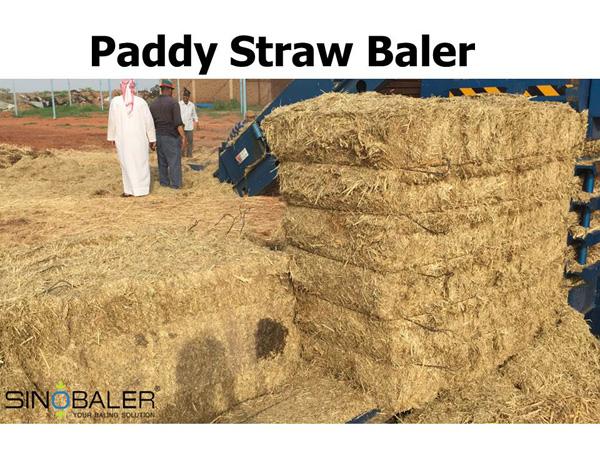 Paddy Straw Baler
