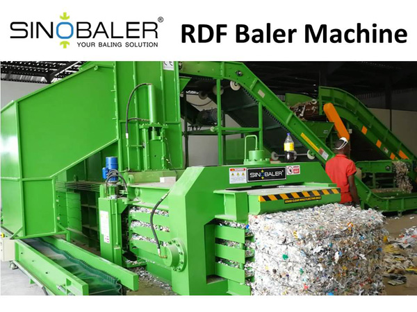 RDF Baler / Refused Derived Fuel Baler Machine