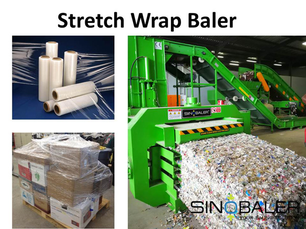 Stretch Wrap Baler / Shrink Wrap Baler / Stretch Film Baler