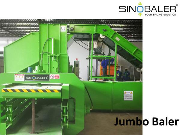 Jumbo Baler Machine / Jumbo Scrap Baling Machine