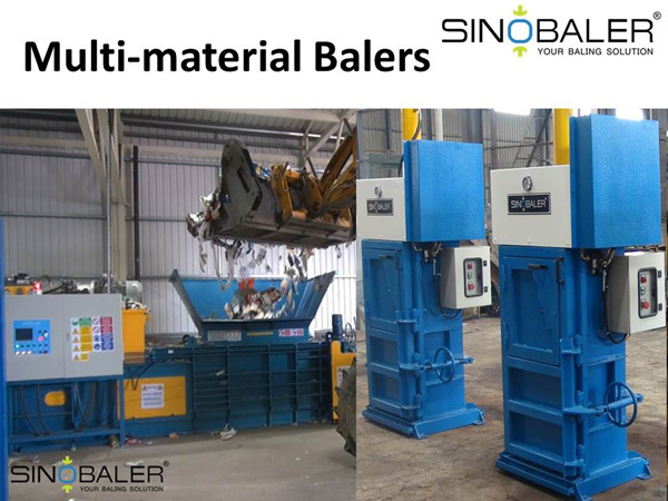 Multi-material Balers Machine