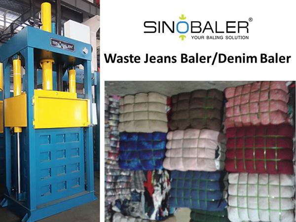Waste Jeans Baler / Denim Baler