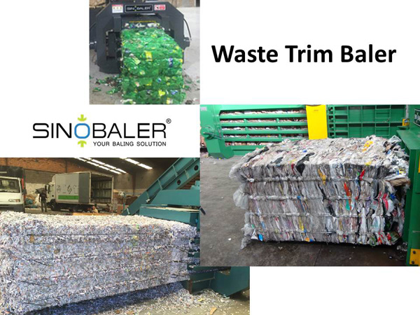 Waste Trim Baler Machine / Trim Waste Baler