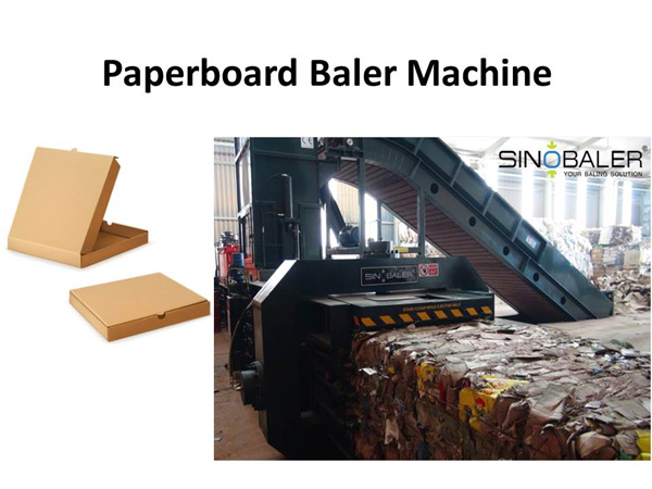 Paperboard Baler Machine / Paperboard Baling Press