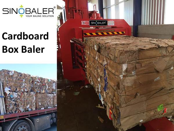 Carton Box Baler / Carton Box Compactor