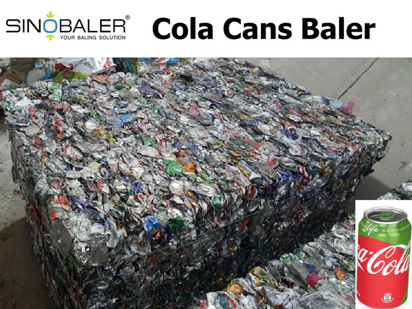 Cola Cans Baler Machine / Cola Cans Baling Machine / Cola Cans Compactor