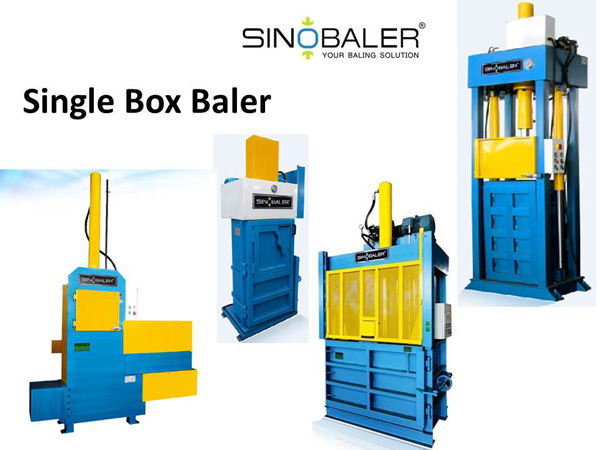 Single Box Baler / Single Box Baling Press Machine