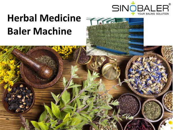 Herbal Medicine Baler / Herbal Medicines Baling Machine