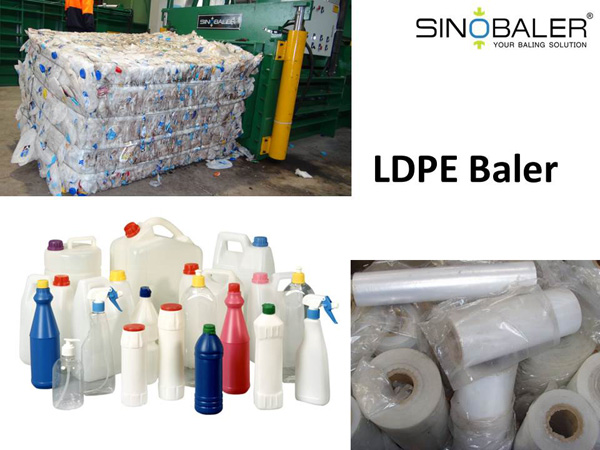 LDPE Baler Machine / LDPE Film Baling Machine